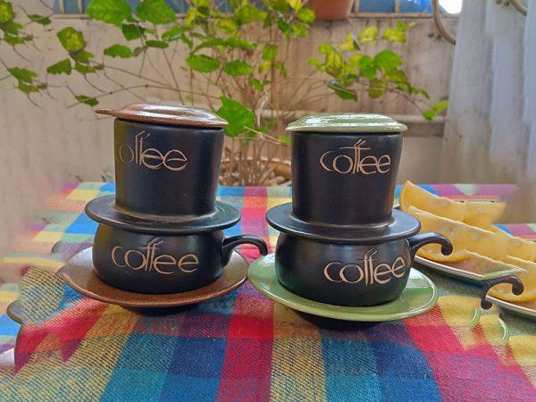 Bộ 2 Phin Pha Caffe Bát Tràng
