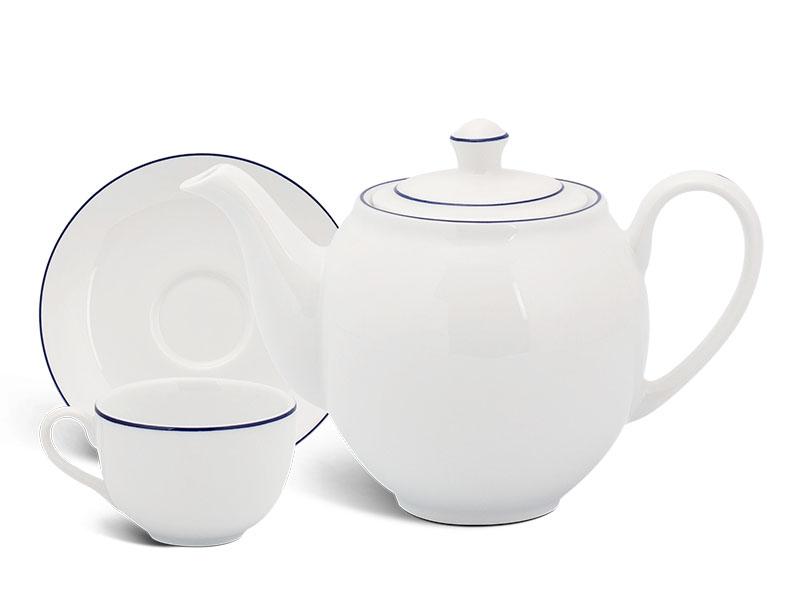 Bộ trà 0.5 L - Camellia - Chỉ Xanh Dương