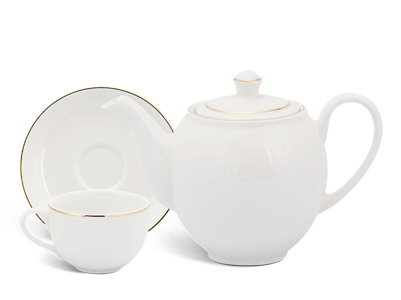 Bộ trà 0.8 L - Camellia - Chỉ Vàng