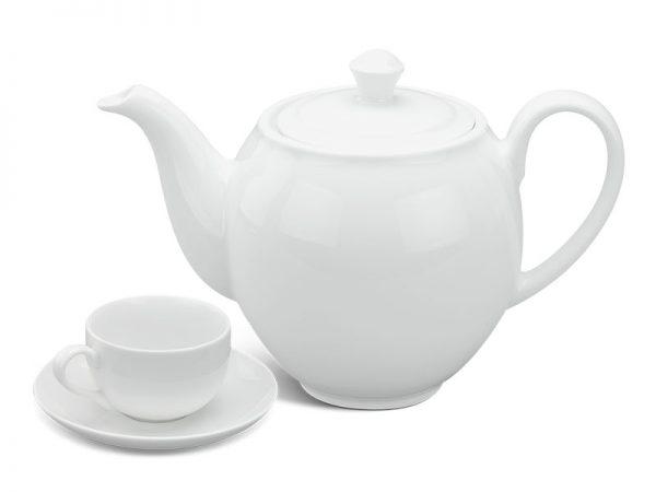 Bộ trà 0.8 L - Camellia - Trắng