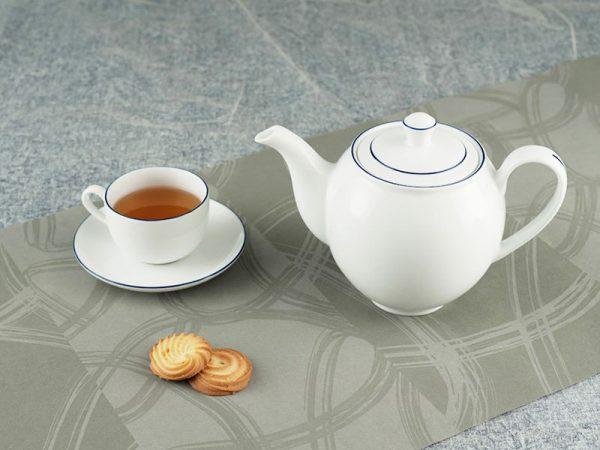 Bộ trà 1.1 L - Camellia - Chỉ Xanh Dương