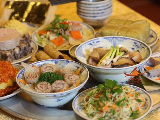 Mâm cơm cúng gồm những món gì